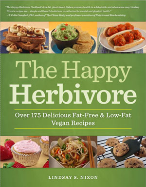 The Happy Herbivore Cookbook cover