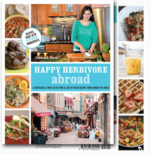 Photo of book cover Happy Herbivore Abroad